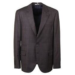 Brunello Cucinelli Soft Brushed Mid-weight Flannel Wool Suit Slim 46r Eu 56