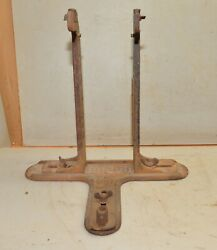 Rare A C Dudley Tool And Company Bicycle Motorcycle Truing Stand Collectible Tool