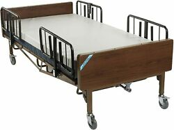 Drive Medical Heavy Duty Bariatric Hospital Bed Brown 48