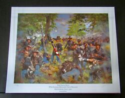 Don Troiani - The Black Hats - A/p - Collectible Civil War - 19th Indiana