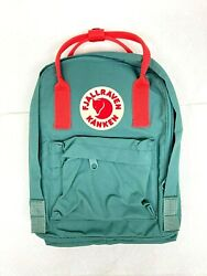 Fjallraven Kanken Mini Classic Backpack for Everyday Frost Green Peach Pink $54.99