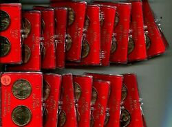 2007 - 2014 President Dollar P And D With Holder Lot Of 62 Coins Bu 6526n