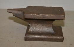 Rare Odd 43 Lb Knife Maker Jewelers Anvil Collectible Antique Blacksmith Tool