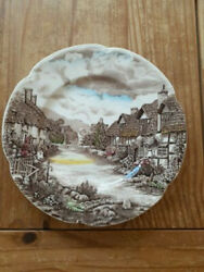 TWO 2 Johnson Brothers Olde English Countryside MultiColor 10quot; Dinner Plates