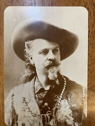 Buffalo Bill Cody Old West Collectsble Post Card