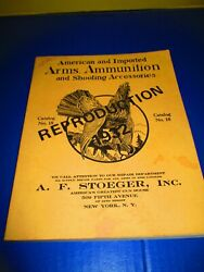 American Imported Arms Ammunition Stoeger Reproduction Catalog Springfield Rifle
