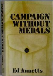 Campaign Without Medals Annetts Ww2 German Pow 5 Years Captivity Signed Hb/dj