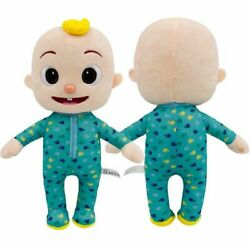 10#x27;#x27; Cocomelon JJ Plush Toy Boy Soft Stuffed Doll Educational Kids Birthday Gift