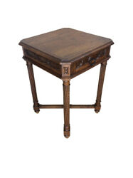 19th Century Antique French Gothic Occasional Table Oak