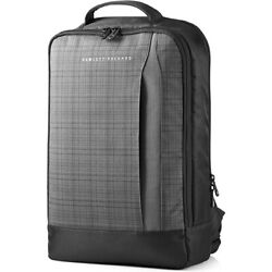 HP Slim Carrying Case Backpack for 15.6quot; Ultrabook Black Gray F3W16AA $23.99