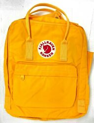 Fjallraven Kanken Classic Backpack for Everyday Warm yellow $54.99