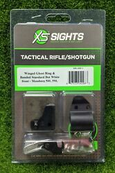 Xs Sights Winged Ghost Ring/banded Dot Hunting Sights Mossberg - Mb-1002-1