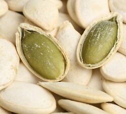 Roasted And Salted Pumpkin Seeds In Shell Vegan Snack - Free Shipping