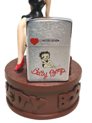 Zippo Lighter 90's Betty Boop Limited Edition Music Box Vintage Dead Stock Rare