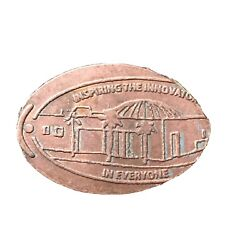 The Tech Inspiring Pressed Smashed Elongated Penny B969