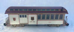"""Bachmann """"g Jackson Sharp Passenger Car Combine Nyc And Hr Fast Mail 97157"""