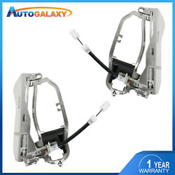 2x Front Leftandright Door Handle Carrier For 00-06 Bmw X5 E350 51218243615 96594