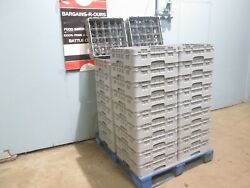 Cambro 16c414 Lot Of 36 Heavy Duty Commercial Nsf 16 Cups Dishwasher Racks