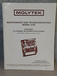 Molytek Maintenance And Troubleshooting Model 3702 Portable 32 Channel Recorder 2s