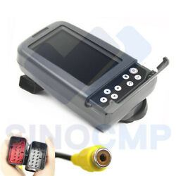320d 320dl 322d E320d Lcd Monitor 386-3457 384-3457 327-7482 For Cat Excavator