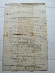 1 July 26, 1815 Deed Land In Nobleborough, Lincoln Cty., Prov. Of Maine, Mass.