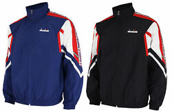 Diadora Menand039s Competitive 90s Italy Wind Full Zip Jacket Color Options