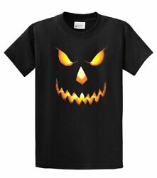 Halloween Scary Pumpkin Face Jack-o-lantern Trick-or-treating Spooky Menand039s