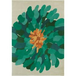 Surya Bst-530 Bombay Area Rug 9and039 X 13and039 Emerald/teal