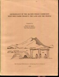 Archaeology Of The Ak-chin Indian Community West Side Farms Project Vol. 2 T..