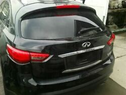 Trunk/hatch/tailgate With Surround View Fits 14-17 Infiniti Qx70 7926283