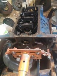 Ford 390 Gt Engine Block C7me-a - Used