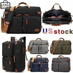 COOLBELL Men Brand Messenger Backpack 17.3quot; Laptop Handbag Large Capacity Bag $38.49