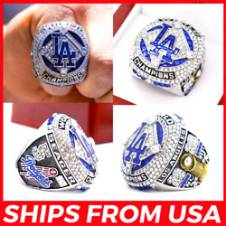 FROM USA LOS ANGELES DODGERS 2020 2021 Ring Champions LA World Series