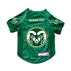 New Colorado State Rams Dog Cat Deluxe Stretch Jersey Licensed Choose Size