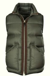 Tom Ford Jacket Men's 58 Green Polyamid One Color