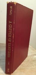 A Clutch of Vampires by Raymond T. McNally 1974 1st Ed Good $8.00