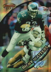1997 Stadium Club Bowmanand039s Best Previews Atomic Refractors Bbp12 Ricky Watters