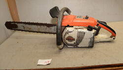 Stihl 031 Av Electronic Logigng Saw Old Badge Collectible Vintage Chainsaw A9