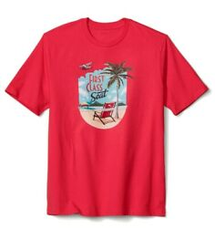 Tommy Bahama First Class Seat X Large Pomodoro T Shirt $29.99