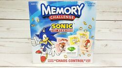 Ultra Rare Memory Challenge Sonic The Hedgehog Edition Game - Complete Used Once
