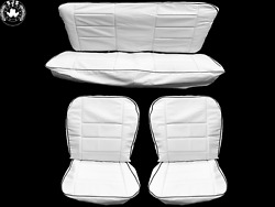 Seat Covers Universal Covers Tanduumlr-seitenverkleidung For Vw Beetle 1.1-1600 White