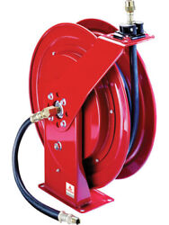 Alemlube Heavy Duty Oil Reel Open 15 Metres X 1/2 Rated To 2000psi 8078-d