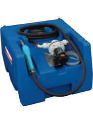 Alemlube 125 Litres Adblue Poly Tank Kit W/ 12v Pump And Manual Nozzle 101125