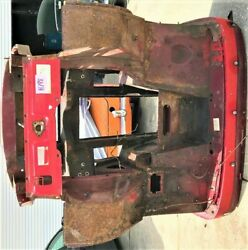 Used Oem . '75 - '79 Mg Midget Front Frame Clip W/ Wheel Arches And Floors  H798