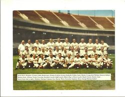 1954 Gunther Beer Baltimore Orioles Photo With Original Mailing Envelope