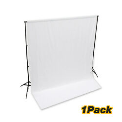 None Gloss Surface Photo Studio 10and039 X 10and039 White Backdrop Screen