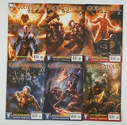 God Of War 1-6 Vf/nm Complete Series Based On The Sony Video Game 2 3 4 5 Set