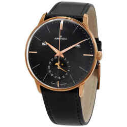 Junghans Automatic Moon Phase Black Dial Menand039s Watch 027/7504.00