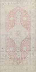 Vintage Muted Traditional Floral Area Rug Hand-knotted Oriental Wool 6x10 Carpet