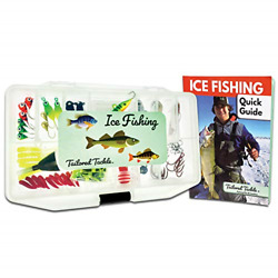 Tailored Tackle Ice Fishing Jigs Lures Kit Walleye Perch Panfish Crappie Ice Box